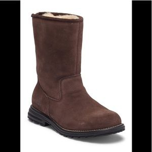 UGG Langley Lined Waterproof Leather Snow Boot